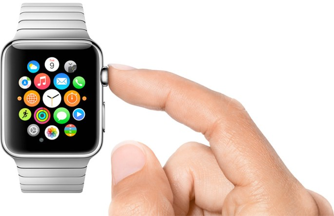 iPhone 6 Apple Watch iOS User Interface