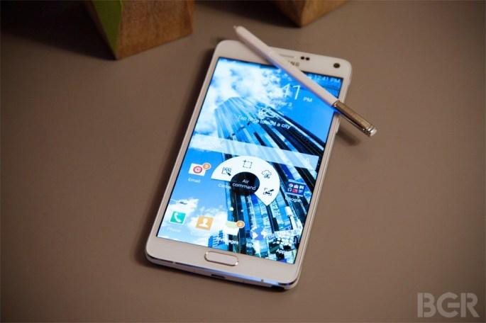 Samsung Galaxy Note 4 Gap