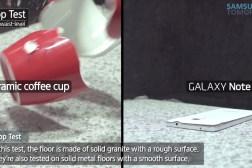 Galaxy Note 4 Drop Test Video