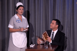 Jimmy Kimmel Siri as Waitress Video