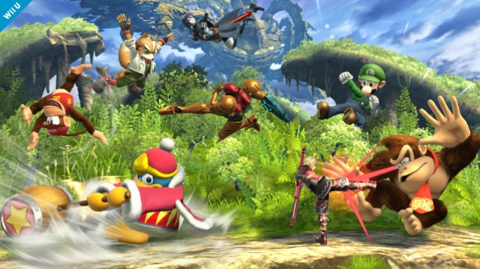 Super Smash Bros For Wii U Preview