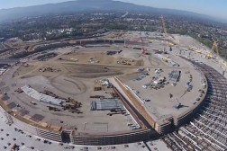 Apple Spaceship Campus Drone Video