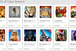 Black Friday and Cyber Monday: Android Apps