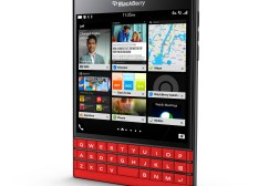 BlackBerry Passport Red White Colors