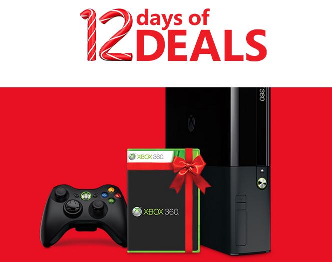 Microsoft 12 Days of Deals Xbox 360