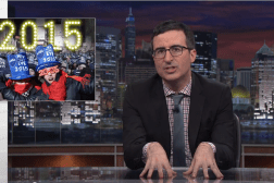 John Oliver New Year's Eve Video