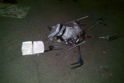 Crashed Drone: Crystal Meth