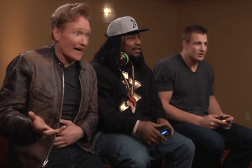 Marshawn Lynch Rob Gronkowski Mortal Kombat Conan Video