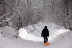 Blizzard Snow-Shoveling Robots