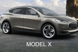 Tesla Model X CUV Spy Video