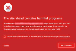 Google Chrome Malware Protection