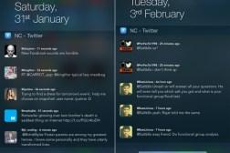 iPhone Widget Twitter App