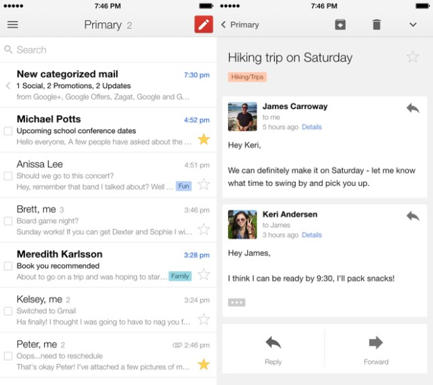 Gmail for iOS was just updated – here are all the new features