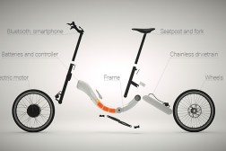 Kickstarter JIVR Electric Smart Bike