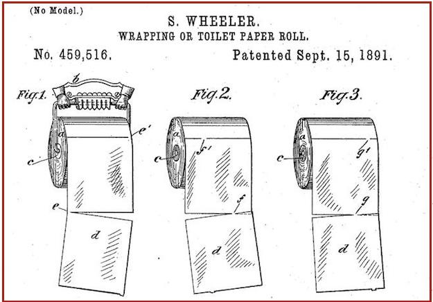 Toilet paper  Over or under  Old patent settles the dispute BGR NXu6GknJ