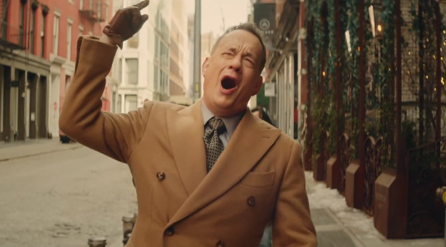 I never thought I'd enjoy a Carly Rae Jespen video… until I saw Tom Hanks dance in one
