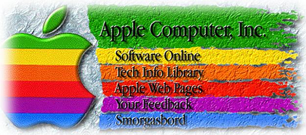 Apple Original Homepage