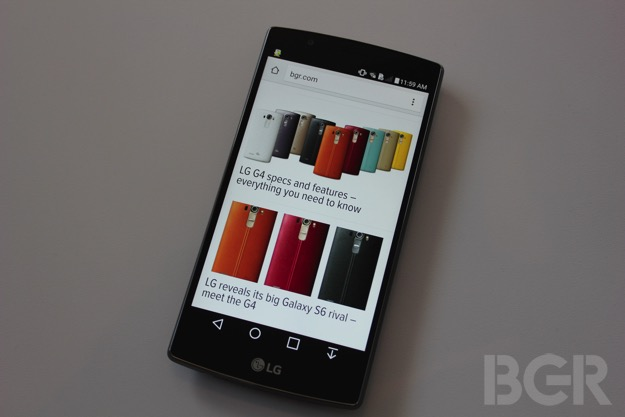 LG G4 vs. iPhone 6 Plus: Display