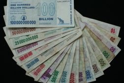 Zimbabwe Hyperinflation Crisis 175 Quadrillion Dollars
