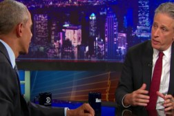 The Daily Show Jon Stewart Barack Obama