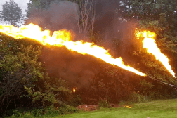X15 Flamethrower Price $1600