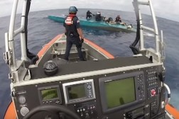 Coast Guard Drug Raid