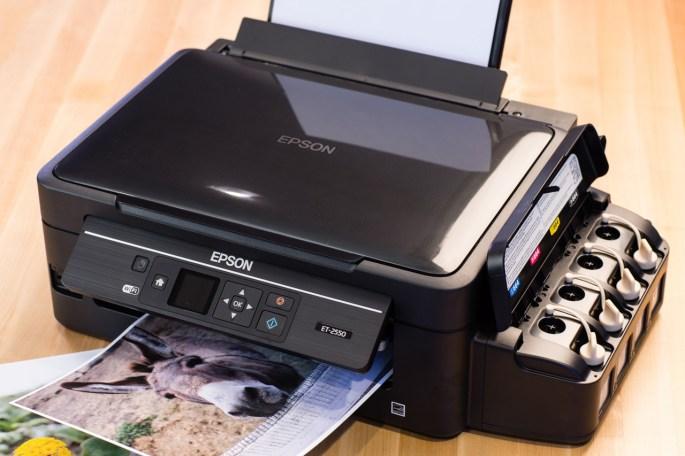 Epson EcoTank ET-2550 ET-4550 Printer Review