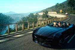 Final Fantasy XV Driving Gameplay Video