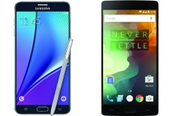 Galaxy Note 5 vs OnePlus 2