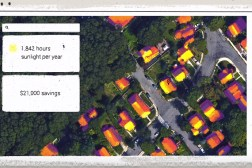Google Maps Project Sunroof Solar Power