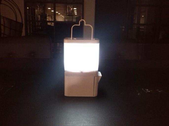 Salt Water Lamp iPhone Battery