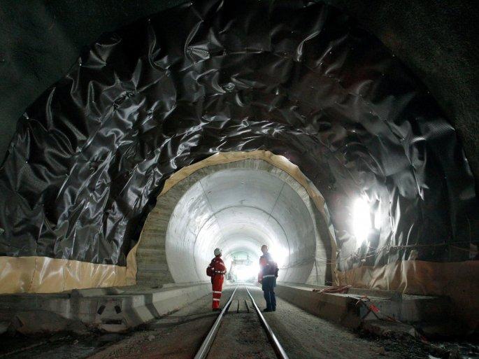 Switzerland Gotthard Base Tunnel
