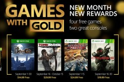 Xbox Games with Gold September 2015