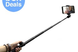 EC Technology 6-Section Extendable Bluetooth Selfie Stick