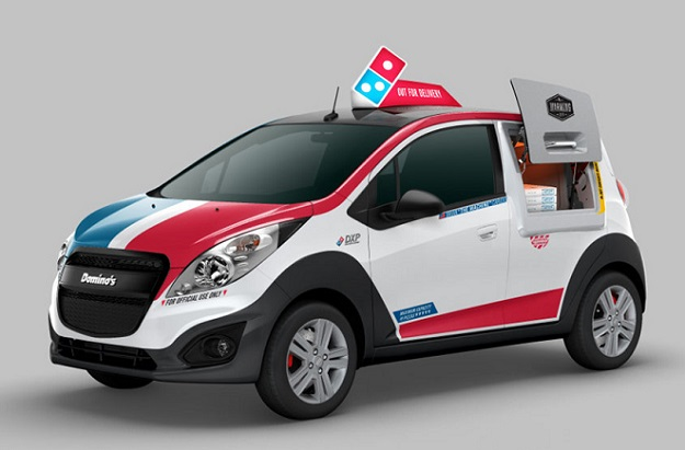 Dominos Pizza Delivery Car: DXP will keep pizza warm in ...