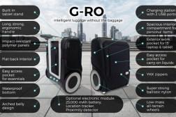 G-RO Smart Carry-on Luggage Kickstarter