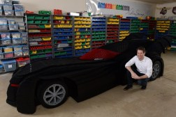 Nathan Sawaya Batmobile Model 500,000 LEGOs