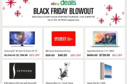 eBay Black Friday Cyber Monday