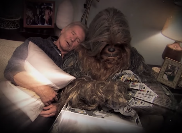 jimmy kimmel helps chewbacca reconcile with harrison ford. Cars Review. Best American Auto & Cars Review