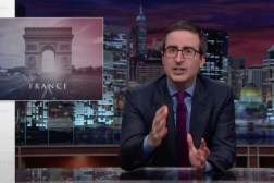 John Oliver Paris Attack