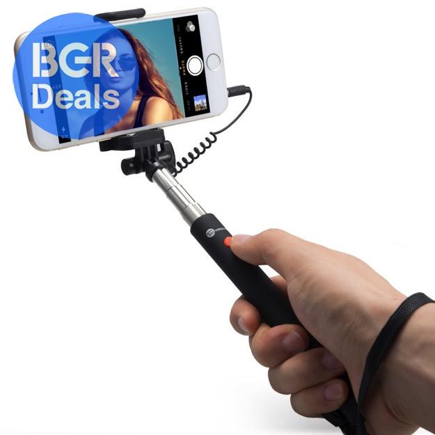 selfie stick for sale on amazon bgr. Black Bedroom Furniture Sets. Home Design Ideas
