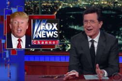 Stephen Colbert Donald Trump Debate Video