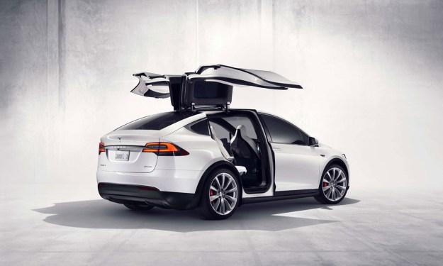 Tesla Self Driving Car Enables