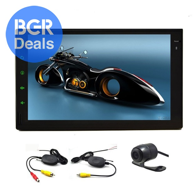 Car video player tablet