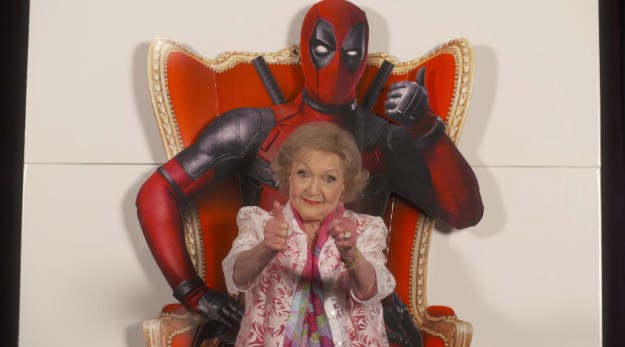 Deadpool Review Betty White