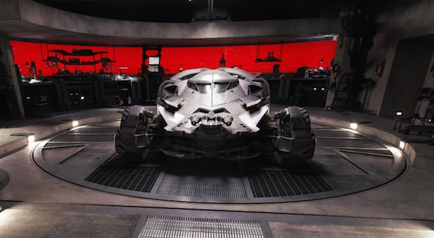 Batman V Superman Google Maps