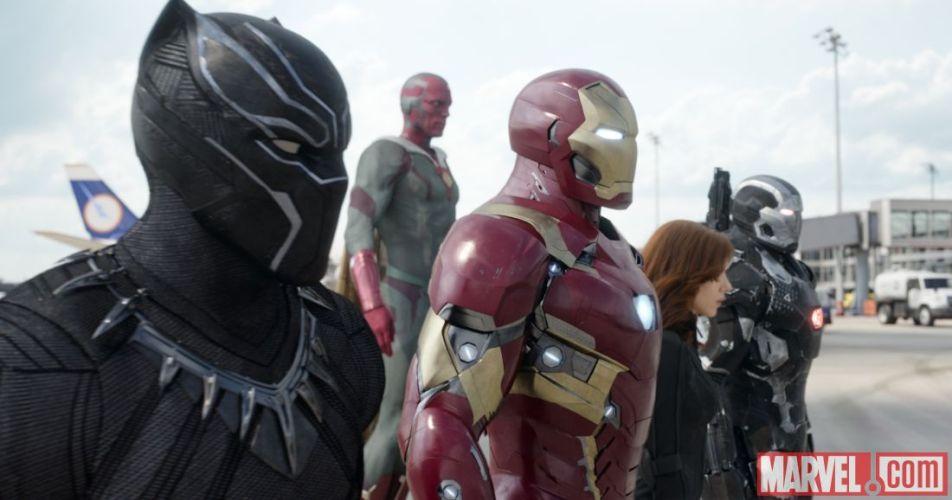 Captain America Civil War Set Photos