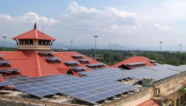 Cochin International Airport Solar Power