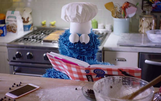 Cookie Monster spends adorably heartbreaking wait for cookies in new Apple commercial