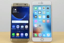 Galaxy S7 Edge Vs iPhone 6s Plus Video